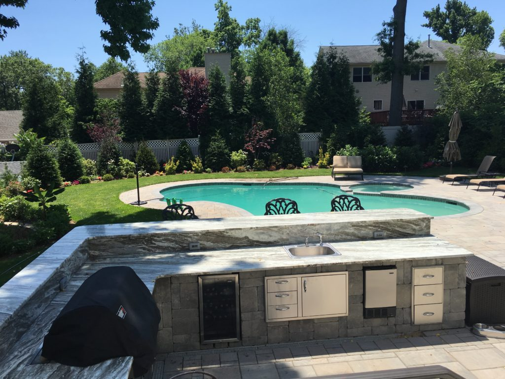 Paver/pool installation